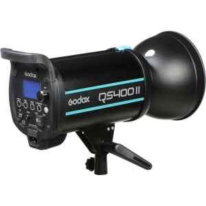 FLASH DE ESTUDIO QS400II 400W C/TRIGGER X1 GODOX-0