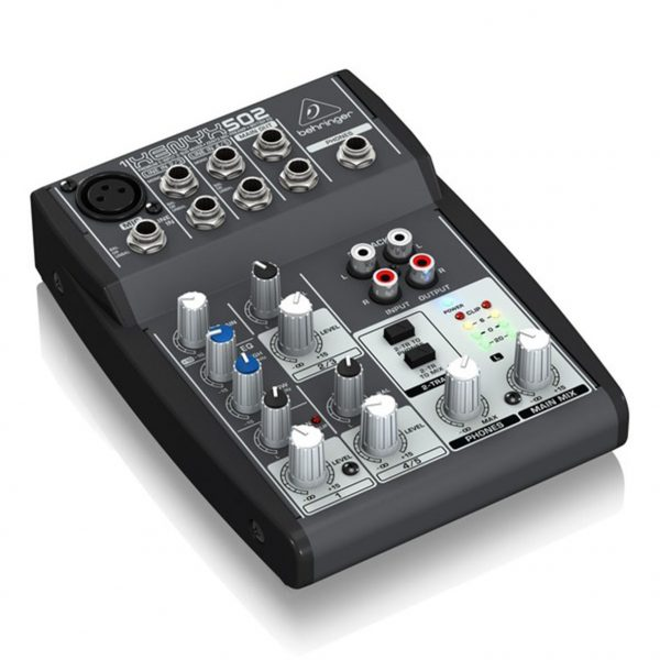 Consola de 5 Entradas | (1-XLR) 2-BUSES 502 XENYX - BEHRINGER-14227