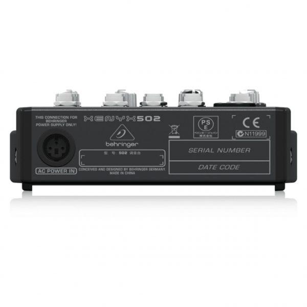 Consola de 5 Entradas | (1-XLR) 2-BUSES 502 XENYX - BEHRINGER-14226