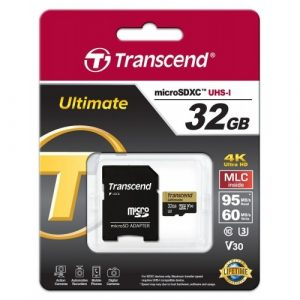 32GB microSDXC UHS-I U3, MLC TS32GUSDU3M Transcend-0