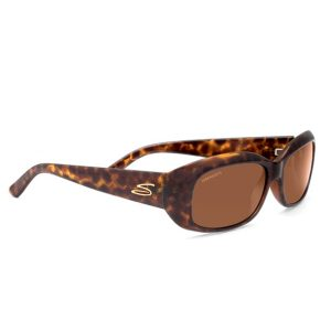 Lentes de Sol Serengeti 7367 Bianca Shiny Glitter Tortoise Polarizado -0