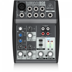Consola de 5 Entradas | (1-XLR) 2-BUSES 502 XENYX - BEHRINGER-0