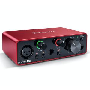 Interfaz de Audio | Scarlett Solo 3rd Gen USB - FOCUSRITE-0