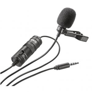 Microfono de Solapa para DSLR / Celular / PC | M1 - BOYA -0