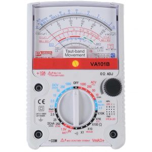 Multimetro analogo Profesional A, V, R 23 Rangos   VA101B - V&A-0
