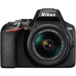 Cámara Nikon D3500 lente 18-55mm + lente 75-300mm-0