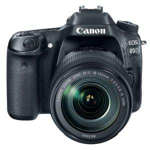 CAMARA EOS 80D 18-135MM IS USM - CANON-0