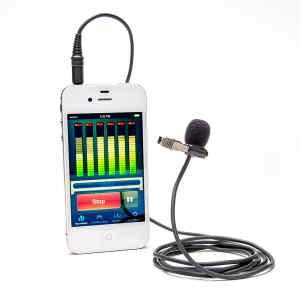 Micrófono de solapa para Smartphones y Tablets Azden EX-503i-0