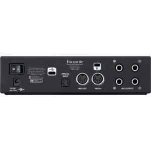 Interfaz de audio CLARETT 2 PRE USB Focusrite-0