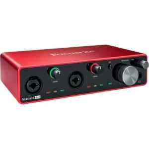 Interfaz de audio USB | Scarlett 4i4 3ra generacion - FOCUSRITE-0