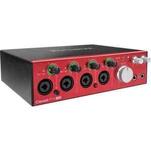 Interfaz de audio CLARETT 4 PRE USB Focusrite-0