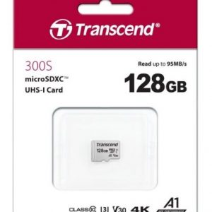 Memoria 128GB UHS-I U1 microSD | TS128GUSD300S - Transcend-0