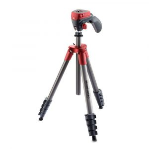 Tripode Compact Action Rojo | MKCOMPACTACN-RD - MANFROTTO-0