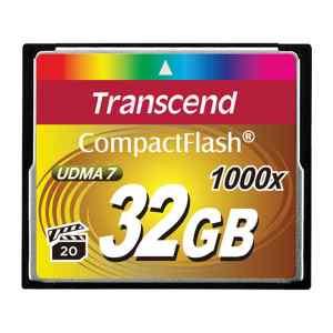 Memoria Compact Flash de 1000X TS32GCF1000 - Transcend-0
