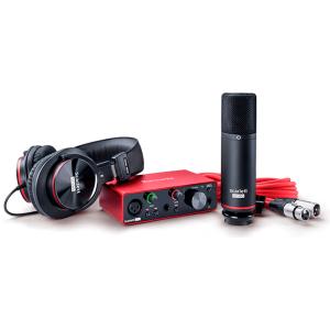 Interfaz de Audio | Scarlett Solo studio pack 3rd Gen - FOCUSRITE-0
