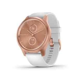 Reloj inteligente hibrido vivomove style white rose gold - Garmin-0