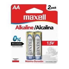 Batería Alcalina AA PK02 LR-06 Maxell-0