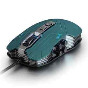 MOUSE USB G5 VERDE MOLVU-0