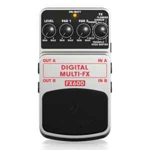 Pedal para guitarra digital multi efectos FX600 - Behringer-0