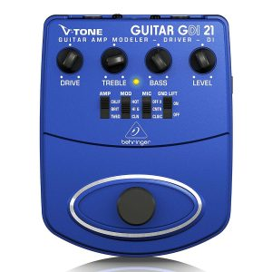 Modelador / Preamplificador / Caja directa de guitarra, GDI21 - Behringer-0