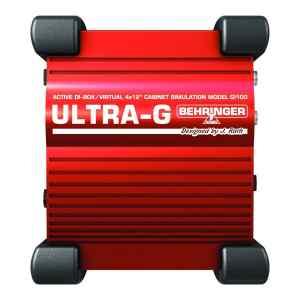 Caja directa con emulador de bocina para guitarra GI100 ULTRA-G - Behringer-0