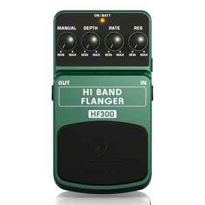 Pedal para guitarra HF300 HI BAND FLANGER - Behringer-0