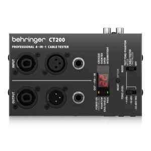 Probador de cable 8 en 1 con microprocesador   CT200 - Behringer-0