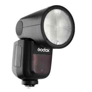 Flash redondo TTL con bateria P/Canon | V1C - GODOX-0