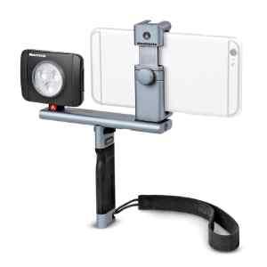 Kit de maneral, barra, adaptador y lampara | MTWISTGRIPKD - MANFROTTO-0
