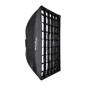 SoftBox con malla de 80x120 cm con montura Bowen | SB-FW-80120 - GODOX-0