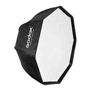 SoftBox Sombrilla con malla 95 cm con montura Bowen | SB-UE95 - GODOX-0
