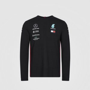 Camisa Manga Larga | MAPM RP MENS LS DRIVER TEE - Mercedes Benz-0