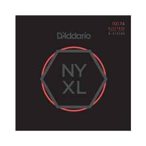 Juego de cuerdas para guitarra eléctrica NYXL1074 - D'ADDARIO-0