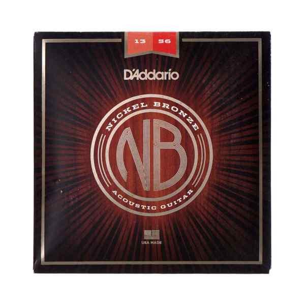 Juego de cuerdas para guitarra electroacustica NB1356 - D'ADDARIO-0