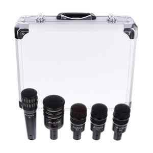 Juego de micrófono batería | DP5A - AUDIX-0