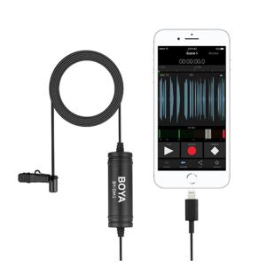 Microfono de Solapa para IOS LIGHTING | BY-DM1 - BOYA-0