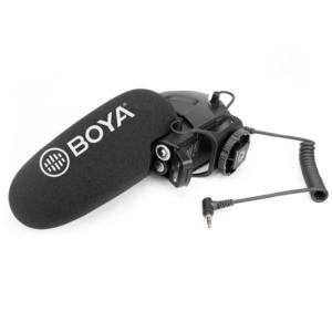 Microfono Shotgun para camara DSLR/VIDEO   BY-BM3030 - BOYA-0