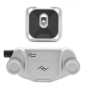 Clip para carga de camara color plata   CP-S-3 - PEAK DESIGN-0