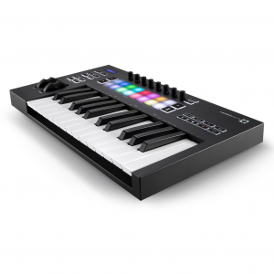 CONTROLADOR MIDI USB PARA MAC/PC/IOS | LAUNCHKEY 25 Mk3 - NOVATION-0