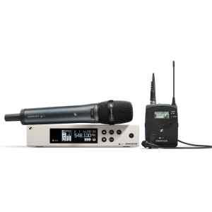 Combo sistema inalambrico, microfono de solapa y de mano | EW100G4-ME2/835S-A1 - SENNHEISER-0