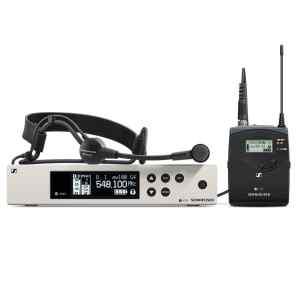 Sistema inalambrico de microfono de diadema ME3 | EW 100G4 ME3 A - SENNHEISER-0