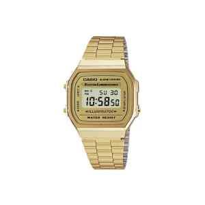 Reloj digital de metal | A168WG-9WDF - CASIO-0
