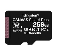 Tarjeta de memoria flash | microSDHC 256GB - Kingston-0
