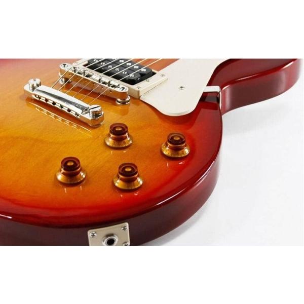 Guitarra electrica con funda   CR100 CRS - CORT-17940