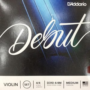 Juego de Violin   D310 4/4 DEBUT   DADDARIO-0