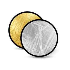 REFLECTOR ABATIBLE 60CM 2 EN 1 DORADO-PLATEADO | RFT-01-6060 - GODOX-0