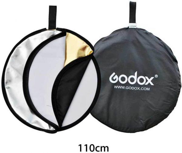 Reflector plegable 5 en 1 80CMS | RFT-06-8080 - GODOX-21598