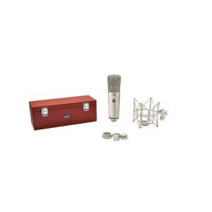 Microfono condensador color nickel l WA-87r2 - WARM AUDIO-0