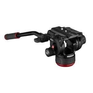 Cabezal de video fluido, base plana, 75MM | 504X - MANFROTTO-0