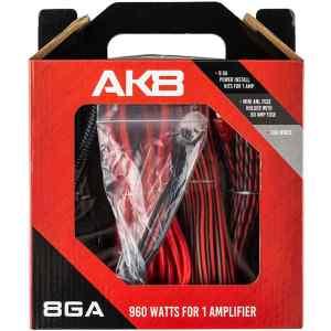 Kit de cables calibre 8   AK 8 - DS18-0
